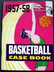 1957-1958 Basketball Case Book Rule Interpretation Booklet 112 Pages