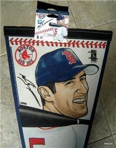2002 Nomar Garciaparra Boston Red Sox Baseball Pennant Wincraft USA # 362