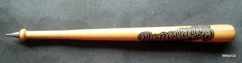 Hudson Valley NY Renegades Minor League Wood Mini Bat Pen MIB