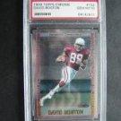 1999 Topps Chrome Rookie Card David Boston #152 PSA 10 Cardinals FB