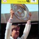 1977-1979 Sportscaster Card Tennis Chris Evert  02-24