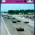 1977-1979 Sportscaster Card Auto Racing French GP Grand Prix 18-17