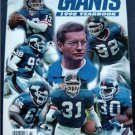 1998 Official New York Giants Football Yearbook
