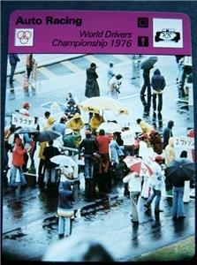 1977-1979 Sportscaster Card Auto Racing World Drivers Championship 1976 06-22