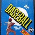 1981 Donruss Baseball Wax Box Full 36 Packs Raines Wilson Valenzuela Rookies?