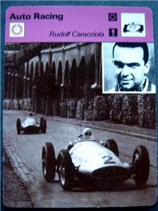 1977-1979 Sportscaster Card Auto Racing Rudolf Caracciola 10-02