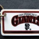 "San Francisco Giants Plastic Key Chain Tag Express MLB 1992 2 1/4"""