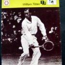 1977-1979 Sportscaster Card Tennis William Bill Tilden 10-08