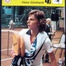 1977-1979 Sportscaster Card Tennis Heinz Gunthardt 15-22