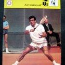 1977-1979 Sportscaster Card Tennis Ken Rosewall 13-15