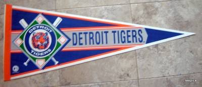 Detroit Tigers New Baseball Pennant 1990's Wincraft
