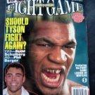 Bert Sugar's Fight Game Boxing Magaine May 1998 #1 Mike Tyson De La Hoya Cover