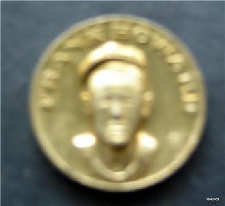 """1869-1969 Citgo Baseball Centennial Series Metal Coin 1"""" Diameter Ron Swoboda"""