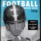 1956 Official Collegiate Football Guide Book with  Rules NCAA Jon Arnett Cover