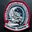 NASA Columbia SpaceLab1 STS-9 Swissartex Patch Parker Young Shaw Merbold 3""