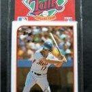 1989 Topps Baseball Talk Cards (4) Set # 7 Hernandez  Murray 1984 World Series 5