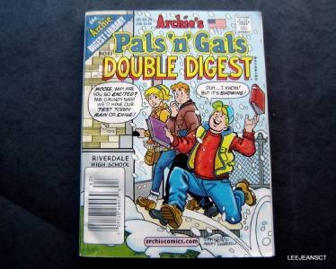 Archie Digest Library Archies Pals n Gals Double Digest Mag # 63 Feb 2002 Comics