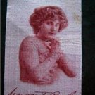 Vintage 1910 Old Mill Cigarettes Tobacco Silk S72 Actress Margaret Puglesi Hands