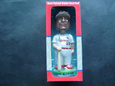 Mark McGwire St Louis Cardinals Bobble Dobbles Bobble Head Nodder in Box