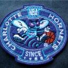 "Charlotte Hornets NBA Basketball Logo Patch Die Cut 3 1/4"""