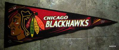 Chicago Blackhawks NHL Hockey Pennant WinCraft Sports Edition 7