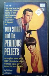 Get Smart and the Perilous Pellets Book by William Johnston 1966 TV Show Tempo