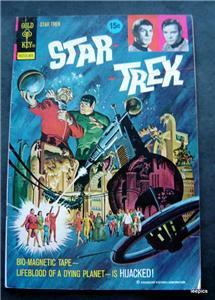 1973 Star Trek Comic Book Gold Key # 18 The Hijacked Planet
