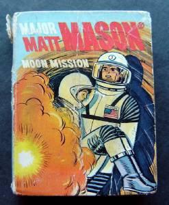 Major Matt Mason Moon Mission Big Little Book 1968 #2022 Whitman