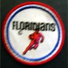 "Floridians ABA Basketball Logo Patch 3"" Round"