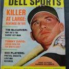 Dell Sports Magazine Baseball July 1968 Killebrew Cover McCarver Davis FB Qb's
