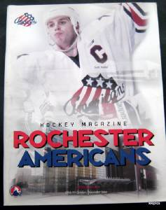 Rochester Americans Minor League Hockey Program Oct/Nov 1998-99