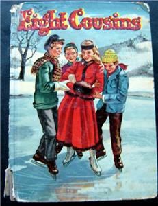 Eight Cousins by Loiuisa May Alcott Book Whitman 1955 HC # 1618