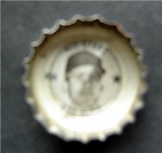 1960's Coke Bottle Cap Baseball MLB All Stars Max Alvis Cleveland Indians