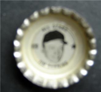 1960's Coke Bottle Cap Baseball MLB All Stars Jim Bunning Philadelphia Phillies
