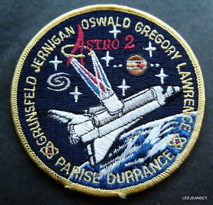 """NASA AB Emblem STS-67 Astro 2 Embroidered Space Patch 4"""""""