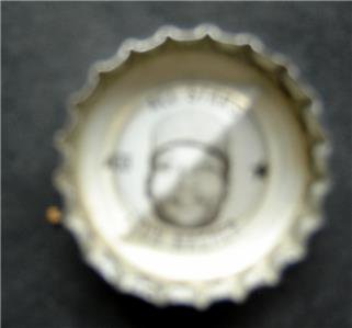 1960's Coke Bottle Cap Baseball MLB All Stars Leon Wagner Cleveland Indians