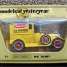 Matchbox Models Yesteryear 1927 Talbot Taystee Truck Y-5