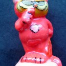 """Garfield Cat Devil Costume Candle """"Last of the Red Hot Lovers"""" 3"""" Tall"""" Enesco"""