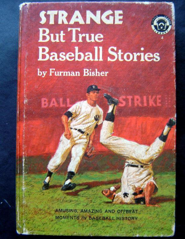 Vintage 1966 Strange But True Baseball Stories Book Little League Library Series