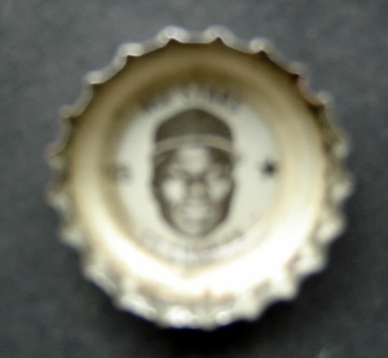 1960's Coke Bottle Cap Baseball MLB All Stars Ed Charles Kansas City Athletics