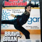 Sports Illustrated Magazine Feb 29 1988 Winter Olympics Brian Boitano Cover