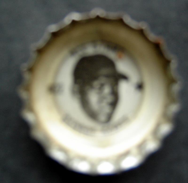 1960's Coke Bottle Cap Baseball MLB All Stars George Scott Boston Red Sox