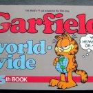 Garfield World-Wide Book by Jim Davis 15th Book 1988 Ballantine