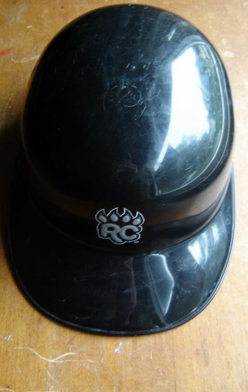 New Britain Ct Rock Cats Defunct Minor League AA Baseball Batting Helmet RC Claw