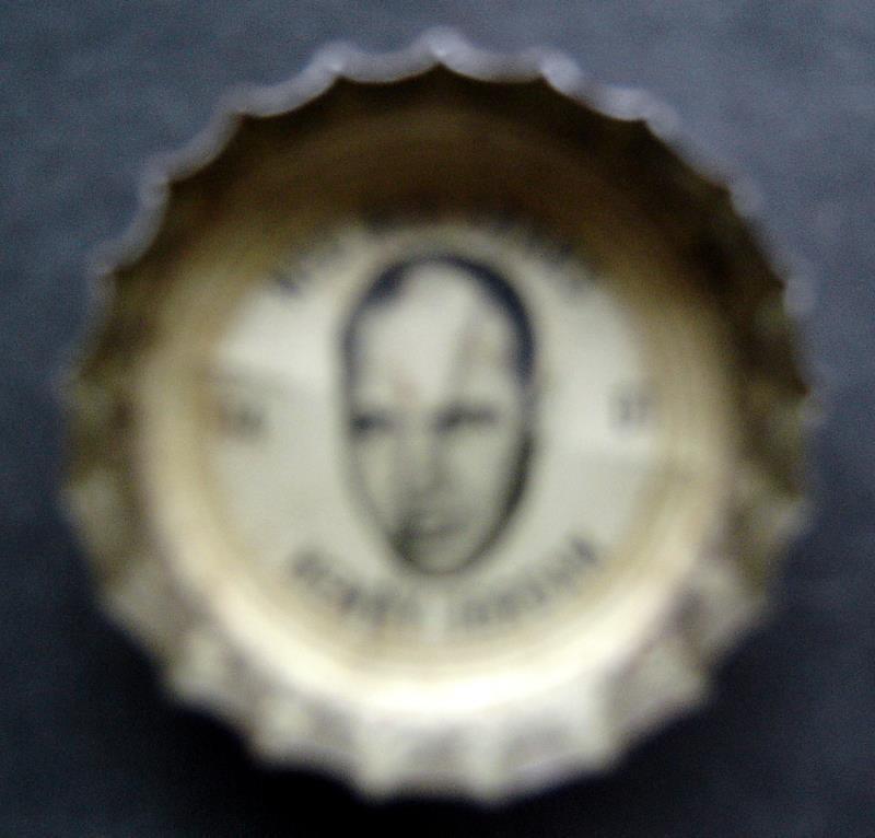 1960's Coke Bottle Cap Football NFL All Stars Henry Jordan Green Bay Packers