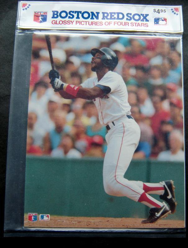 1989 Boston Red Sox Pictures 4 Stars Boogs Clemens Burks Greenwell 8 x 10 MIP