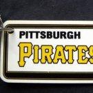 "Pittsburgh Pirates Plastic Key Chain Tag Express MLB 1992 3"" x 1 1/2"""