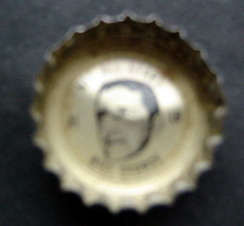 1960's Coke Bottle Cap Football NFL All Stars Bill George Bears Rams