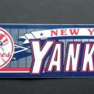 New York Yankees Baseball Bumper Sticker Wincraft