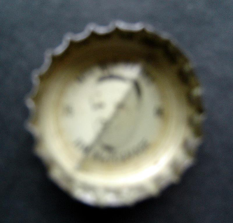 1960's Coke Bottle Cap Football NFL All Stars Jim Katcavage NY Giants